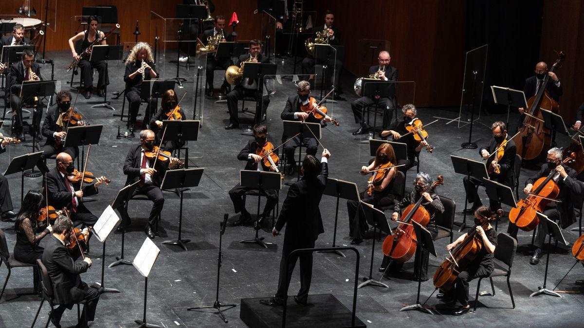 La Orquesta de Córdoba, en uno de los conciertos de temporada.