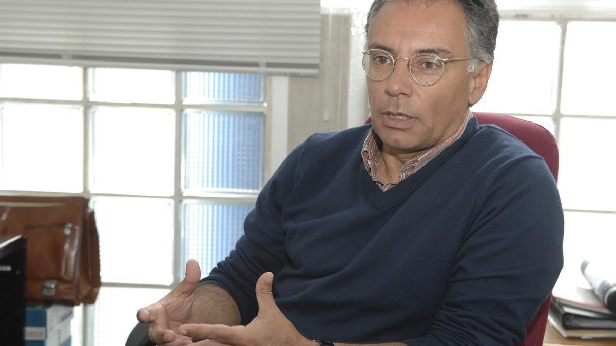 The Iocag researcher, Santiago Hernández León.