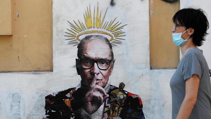 Ennio Morricone ya reposa en un cementerio romano tras un funeral privado