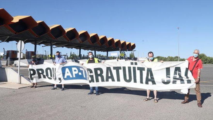 El moviment per l'alliberament de l'AP-7 celebra que faltin 365 dies per la gratuïtat