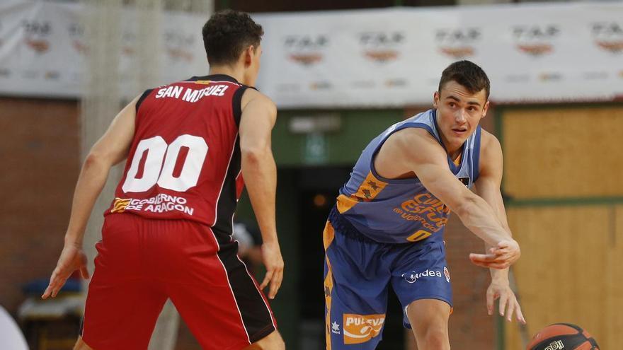 Dimitrijevic, baja para el partido contra el Baxi Manresa