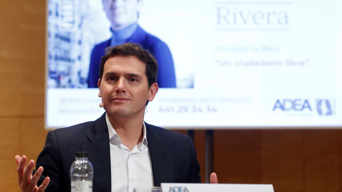 Albert Rivera, exlíder de Ciudadanos.