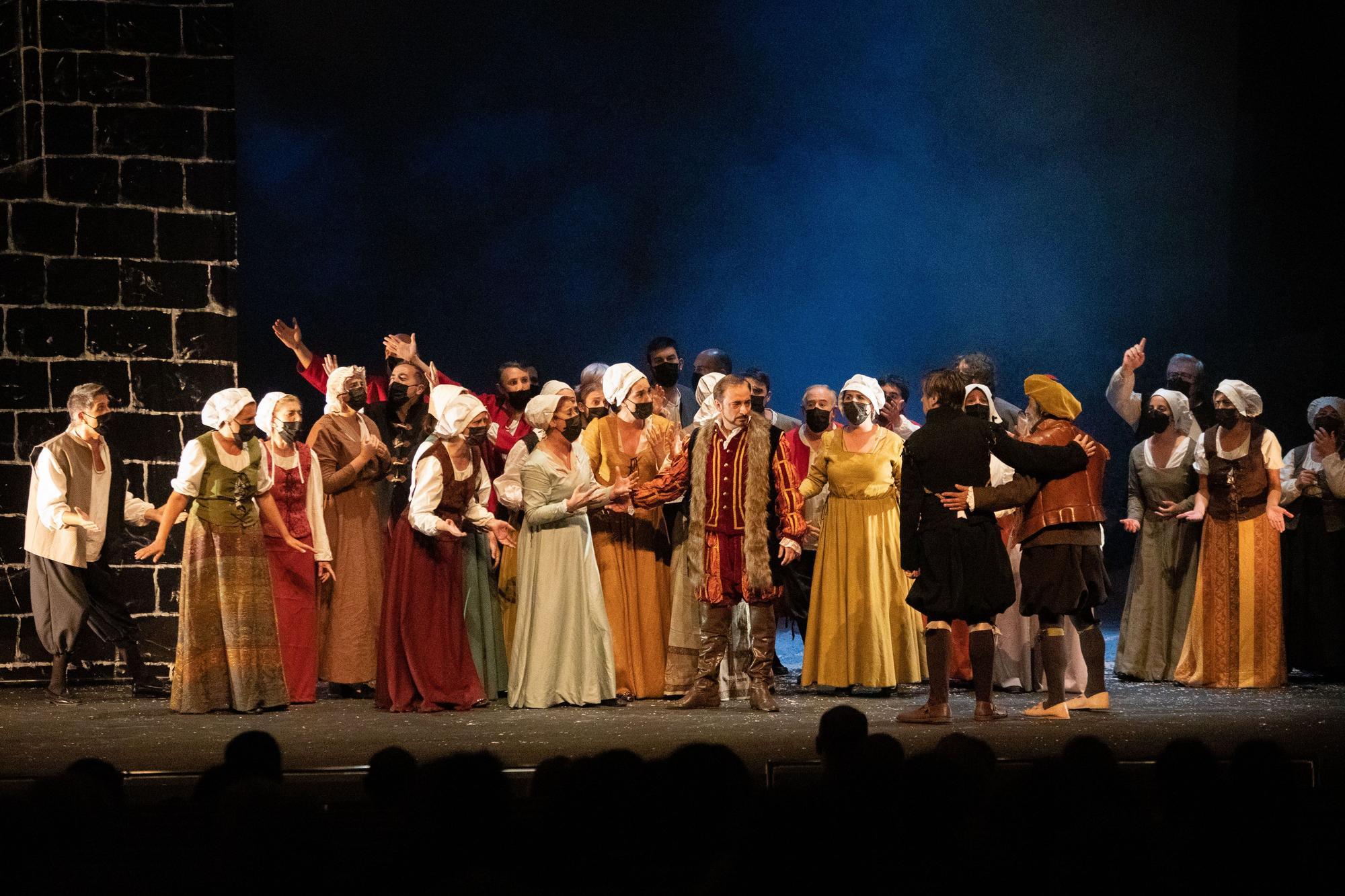 """Ópera """"Los Comuneros"""" en el Teatro Ramos Carrión"""