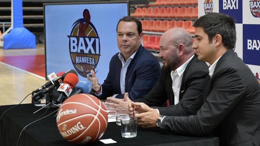 Baxi seguirà sent el patrocinador principal del Bàsquet Manresa
