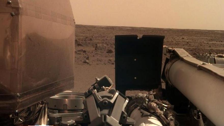 Marte sufrió hasta 174 terremotos en 10 meses