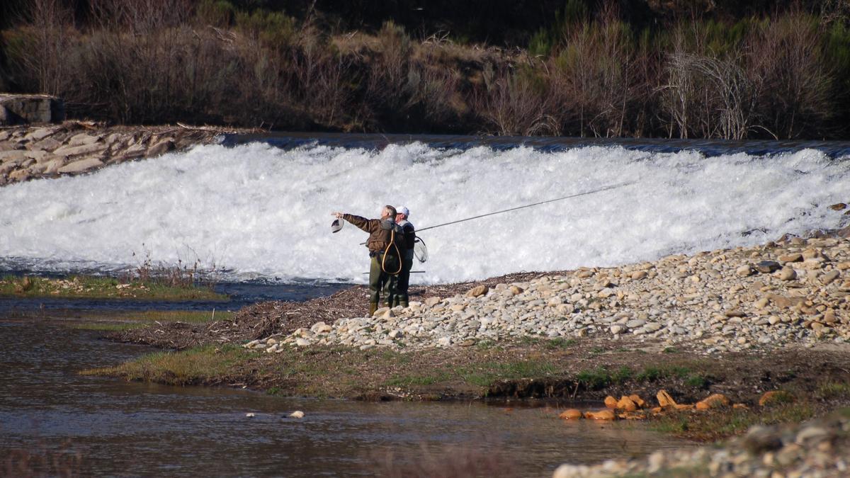 Pescadores en Sanabria