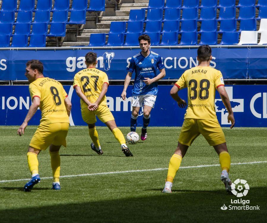 El Real Oviedo-Girona en imágenes