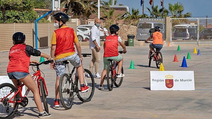 Educación vial en las Aulas Ciclistas de La Vuelta