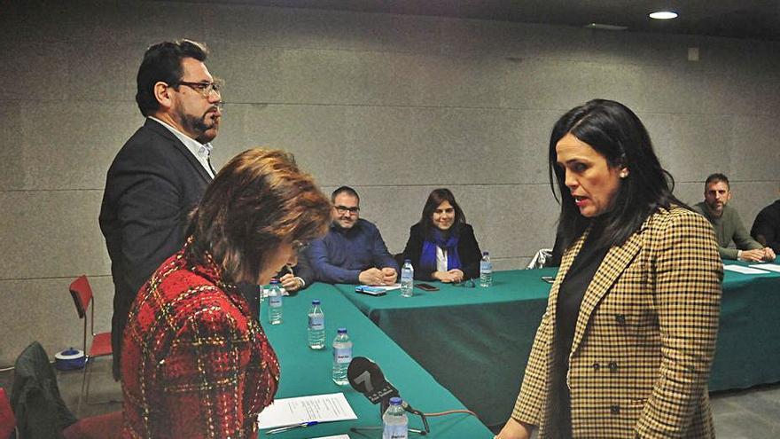 El juzgado legitima el nombramiento de Marta Giráldez como presidenta comarcal