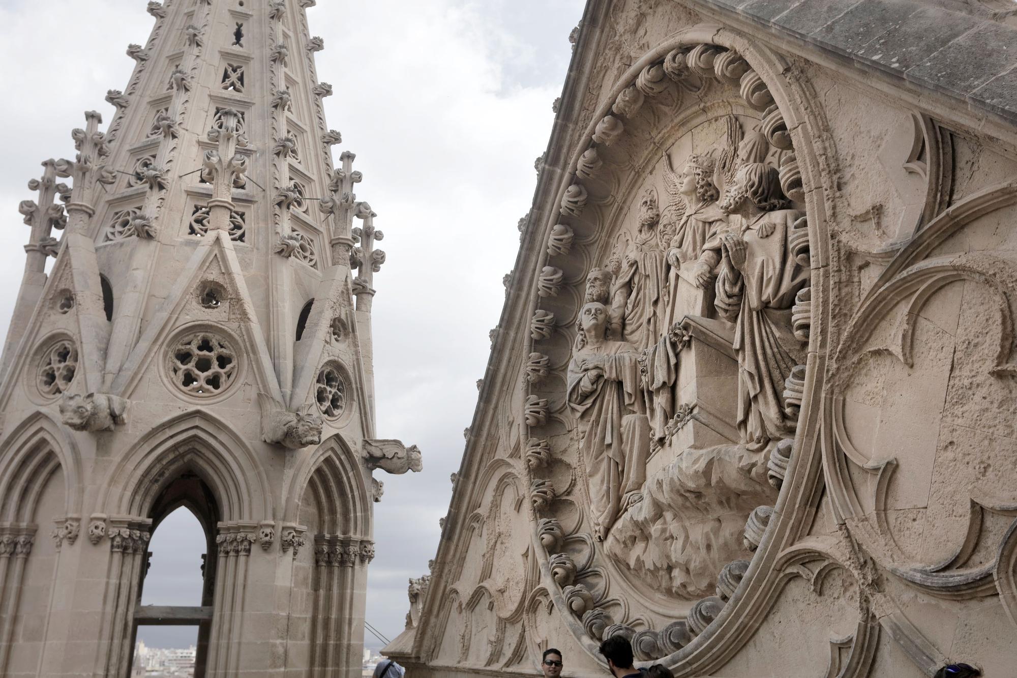 Visita a las terrazas de la Catedral