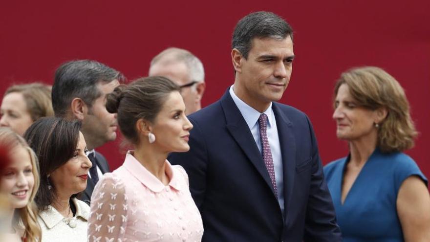Pitos y abucheos contra Sánchez