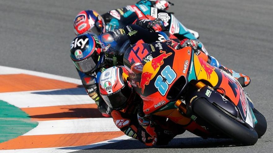 Carrera de Moto2 del GP de Portugal, en directo