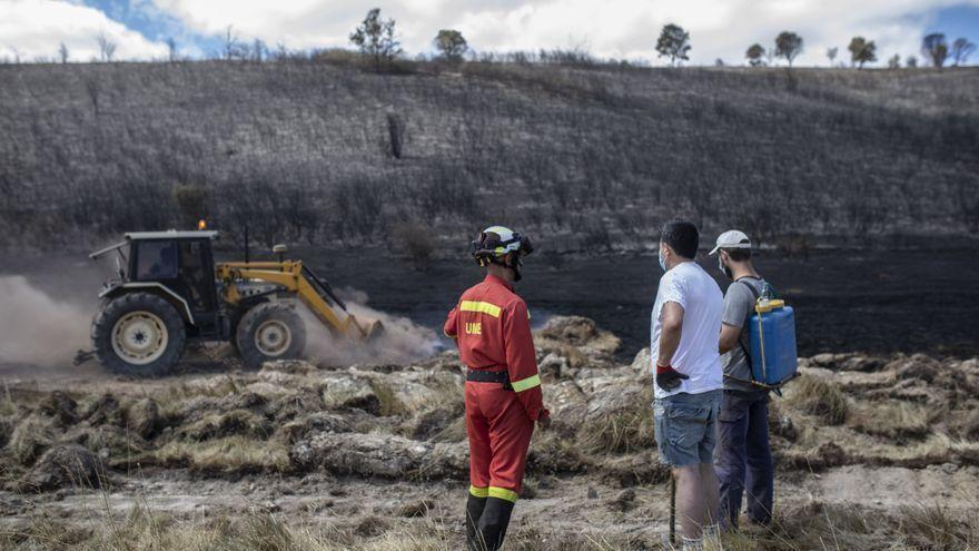 Zamora focaliza un centenar de procedimientos sancionadores por incendios forestales en los últimos tres años