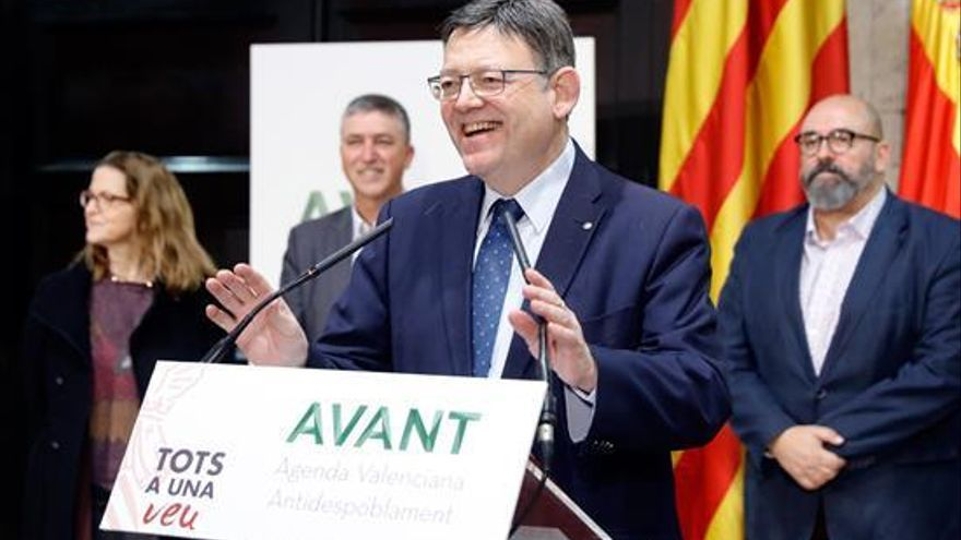 Ximo Puig apela a no condicionar la financiación a Cataluña