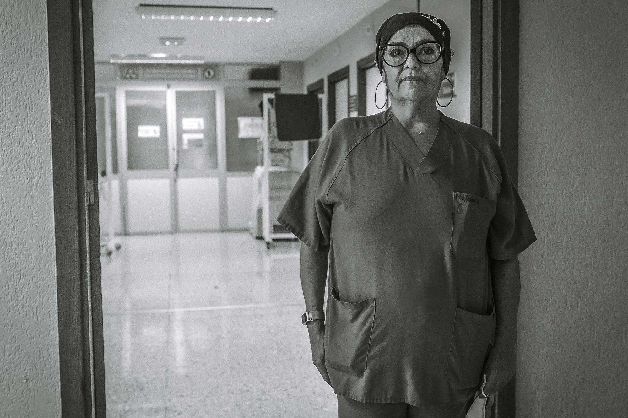 María Isabel Santana, celadora