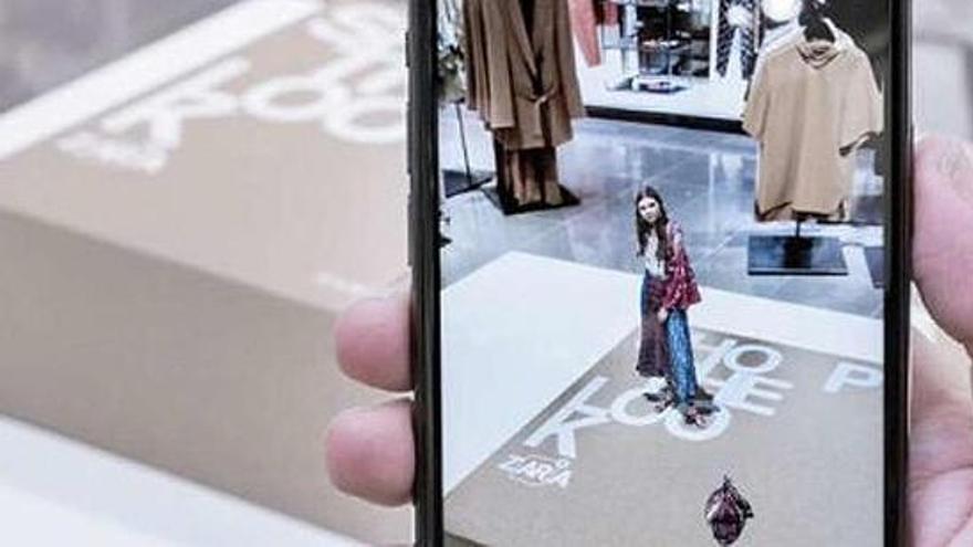 Los modelos virtuales llegan a las tiendas de Zara en abril