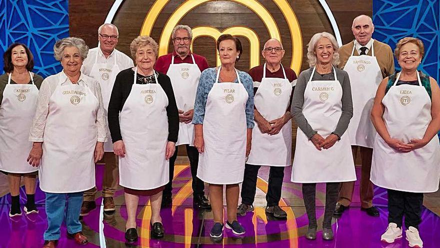 La 1 de TVE emitirá estas Navidades el especial 'MasterChef abuelos'