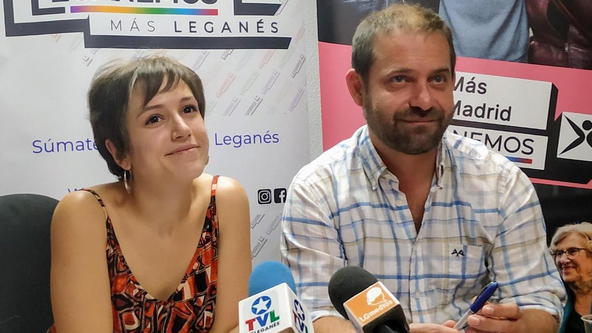 Eva Martínez y Fran Muñoz.