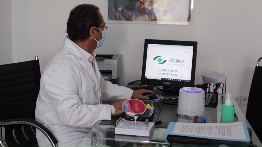 Tratamiento del desprendimiento de retina y degeneración macular