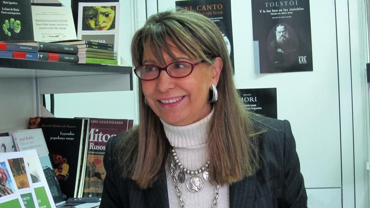 Juana Vázquez, autora del libro 'Voz de niebla'.