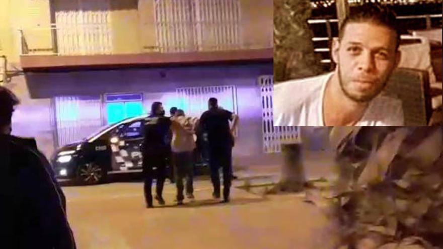 Hallan varias pistolas y escopetas en la casa del presunto asesino de Mazarrón