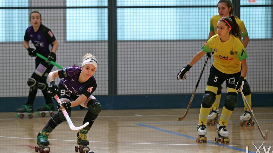 Hockey sobre patines: La aventura de la catalana Helena de Sivatte en el Cuencas Mineras va sobre ruedas