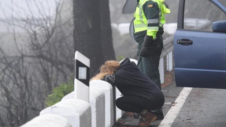 Las víctimas de Artenara son rescatadas tras seis horas de esfuerzos y lágrimas