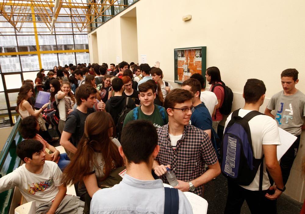 Segunda jornada de selectividad en Asturiras