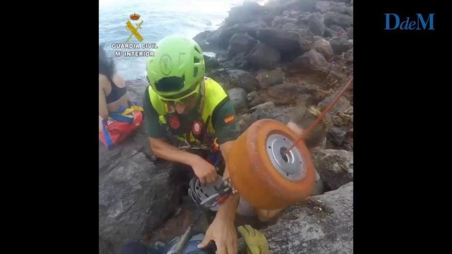 Sechs Schiffbrüchige mit Helikopter gerettet