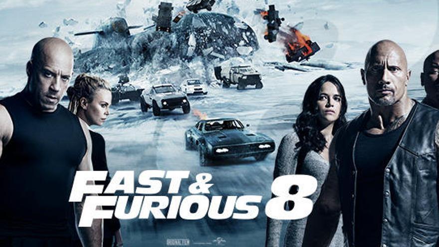'Fast & Furious 8', el estreno más taquillero de la historia