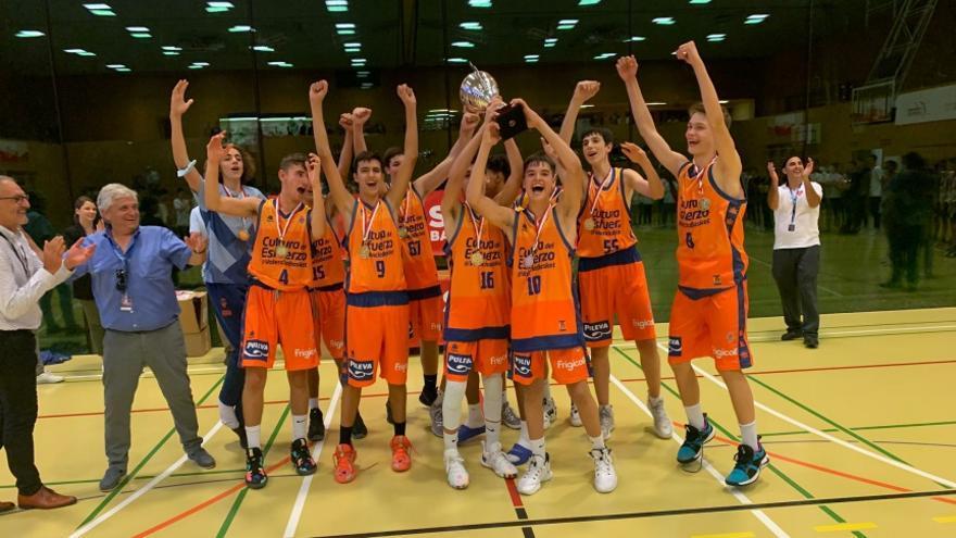 El Cadete B del Valencia Basket 'enamora' en Suiza