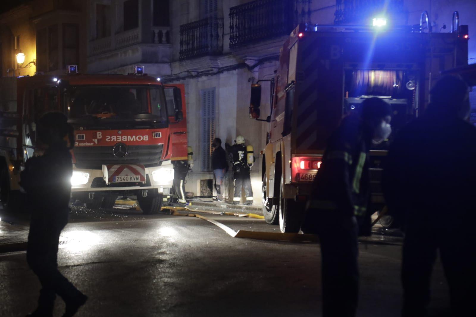 Al menos tres heridos en una explosión en una lavandería en Algaida