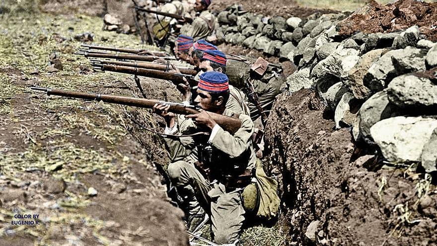 El Burgo recuerda a los caídos en la defensa del Igueriben