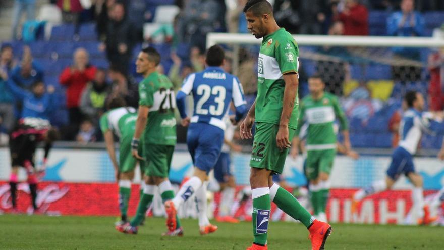El Elche-Espanyol se ha dado 19 veces en Primera con 13 triunfos franjiverdes
