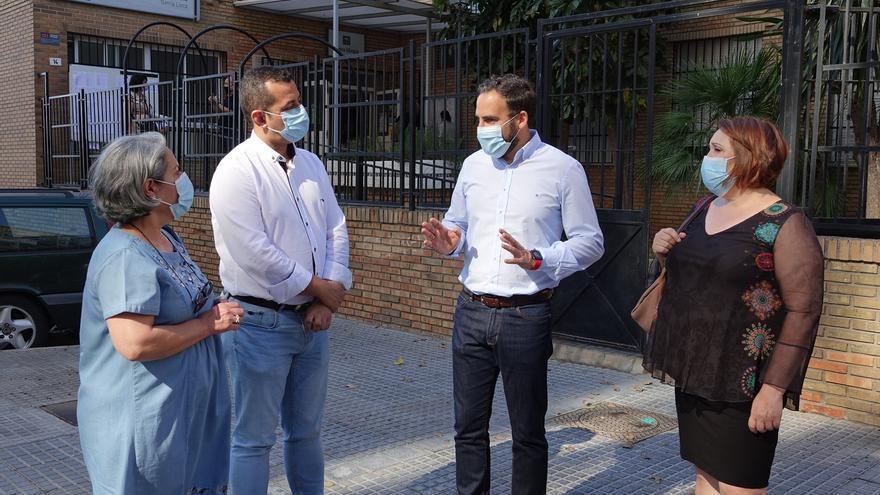 El PSOE pide a la Junta que mejore la ventilación y acabe con el frío en las aulas