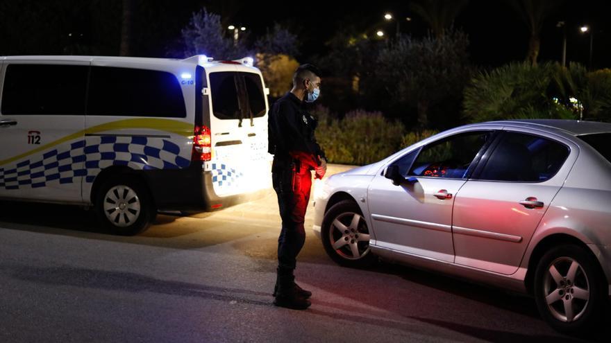 La Policía de Santa Eulària denuncia a 88 conductores en tres controles de velocidad en vías urbanas de Jesús