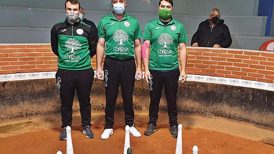 Bolos: El Arenal y Prau La Hueria se disputan el campeonato de Asturias por parejas
