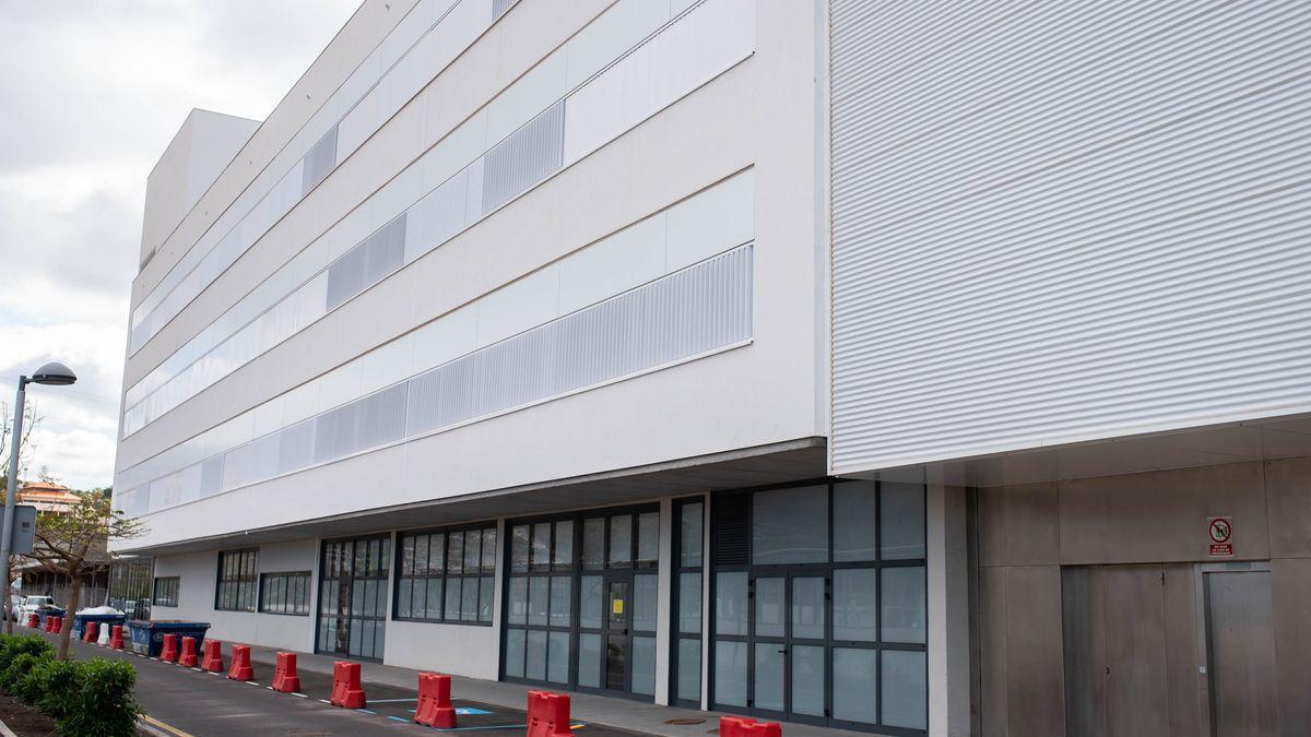 El nuevo módulo del Hospital del Sur de Tenerife.