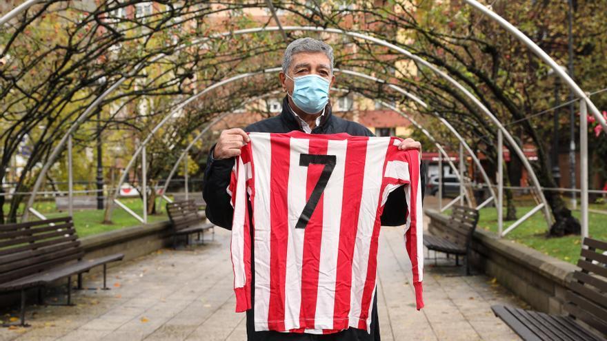 Lastra, el jugador del Sporting que nació con las tres cruces de Ortiz