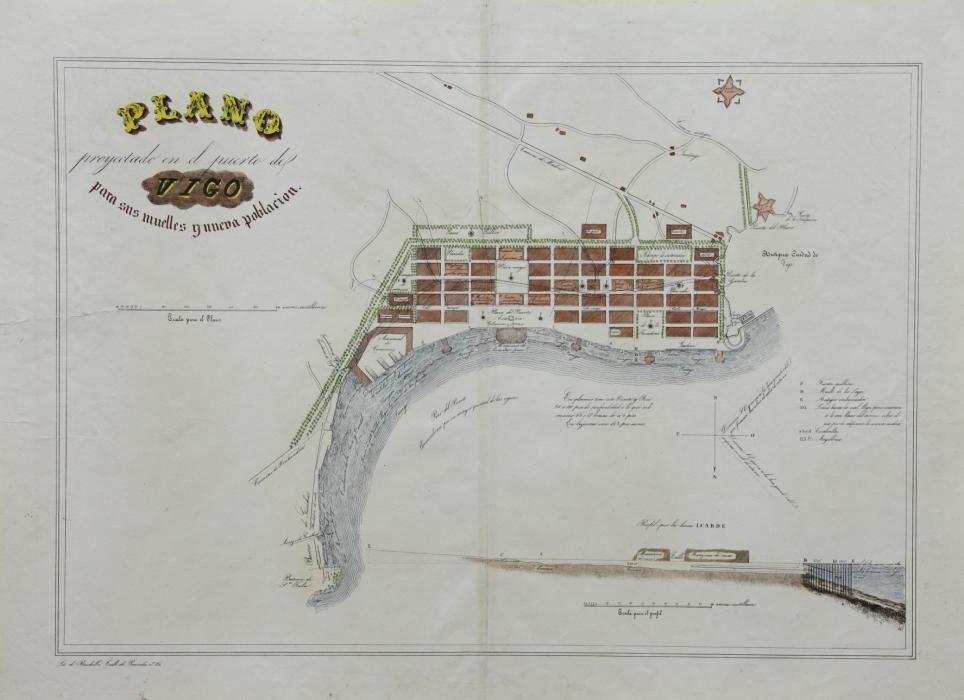 Proyecto para el puerto de Vigo (1837)
