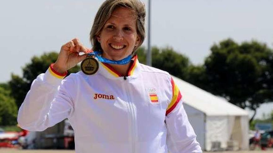 Portela, la mejor piragüista española en 2018