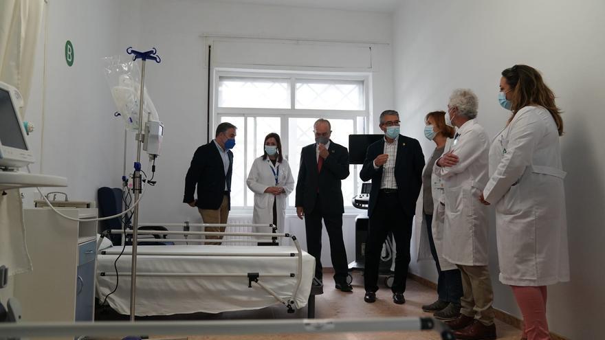 Reconvierten el Centro Guadalmedina, junto al Civil, para atender a pacientes Covid leves
