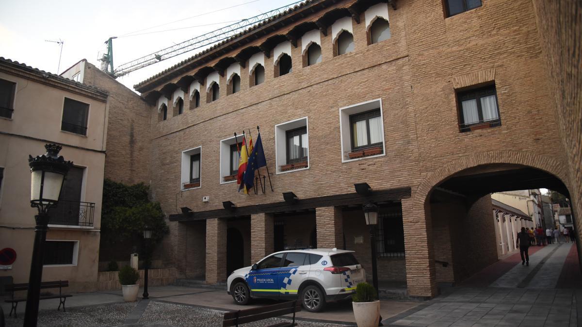 Ayuntamiento de La Puebla de Alfindén, municipio en el que ha ocurrido el siniestro.