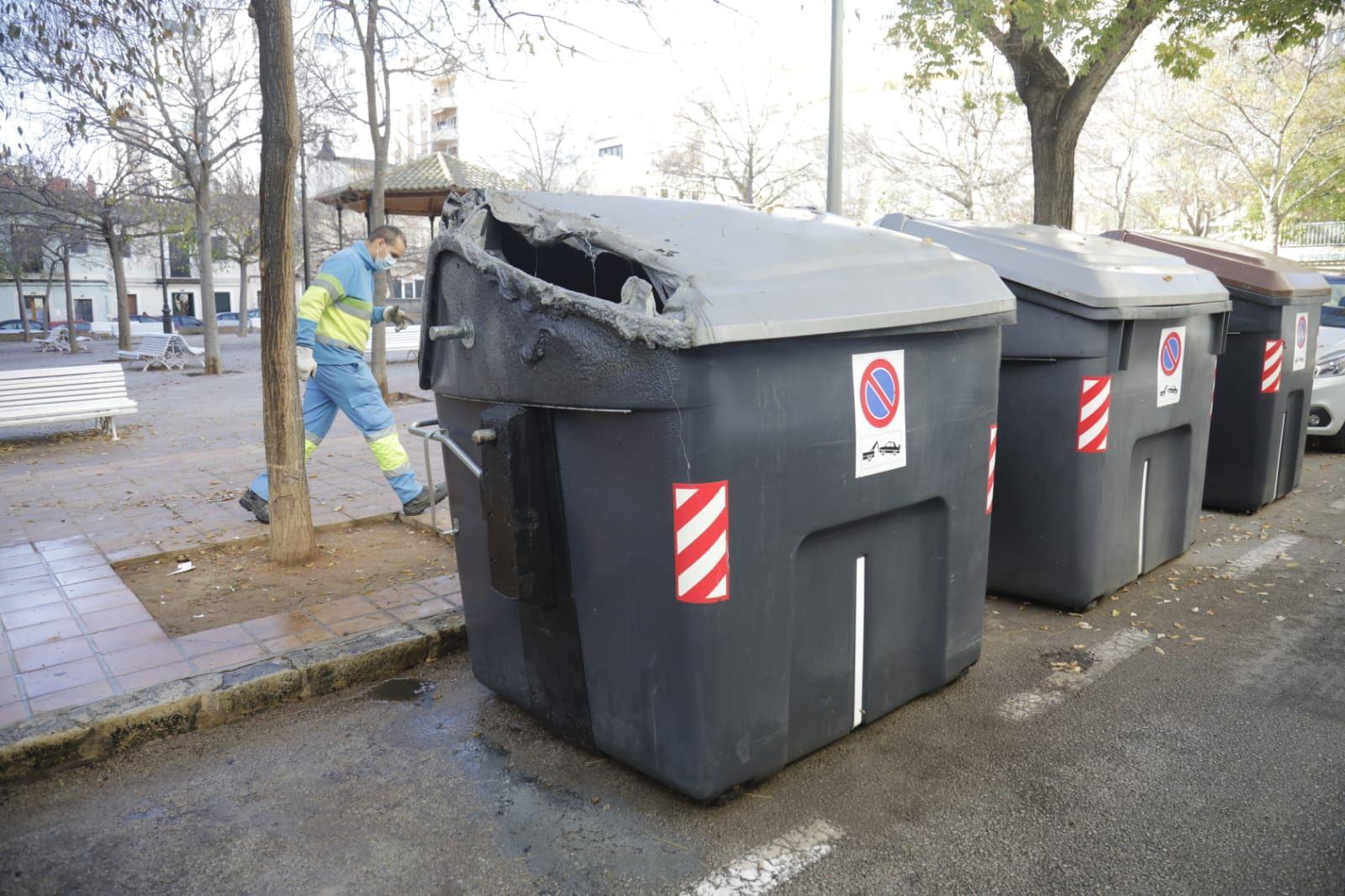 Nueva oleada de incendios de contenedores en Palma