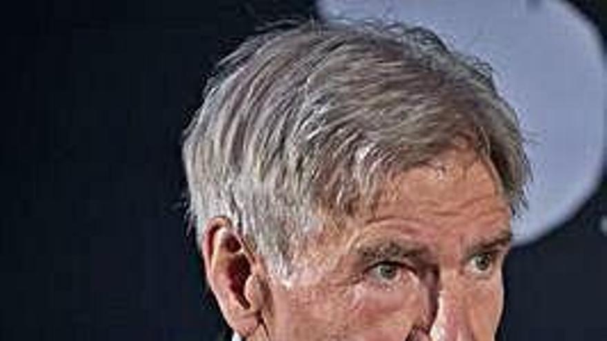 Harrison Ford carga contra Trump
