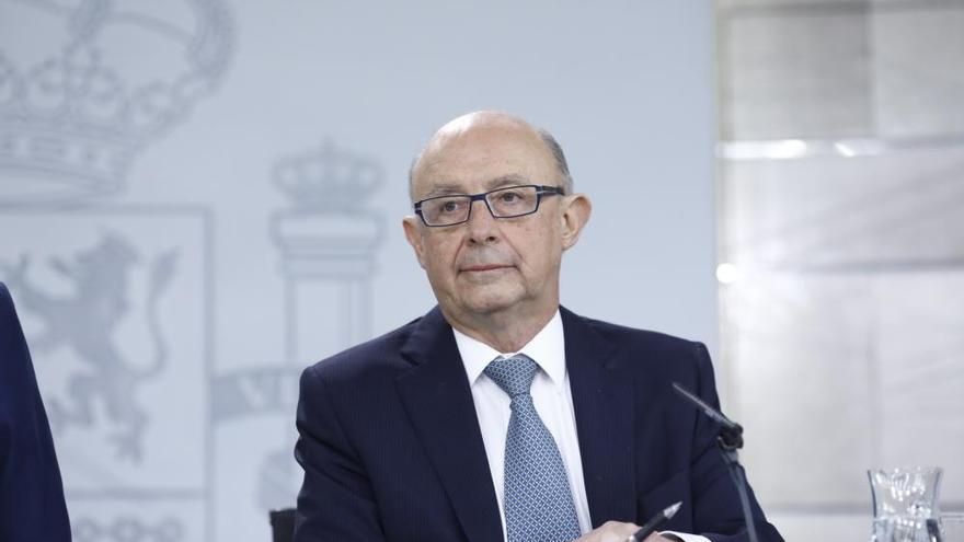 """El PP defiende a Montoro: """"Fue el primero que denunció la malversación en el 1-O"""""""