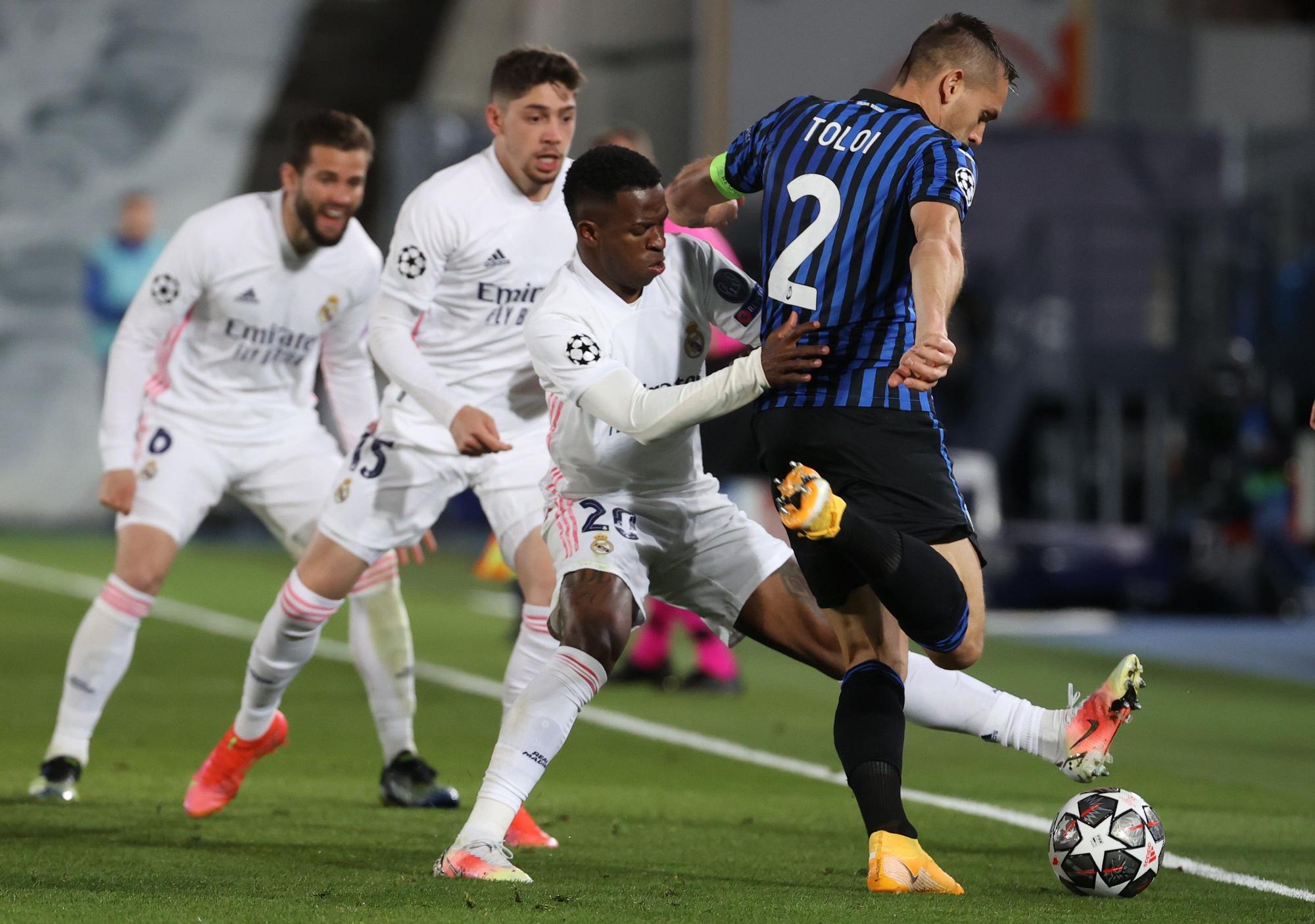 Champions League: Real Madrid - Atalanta