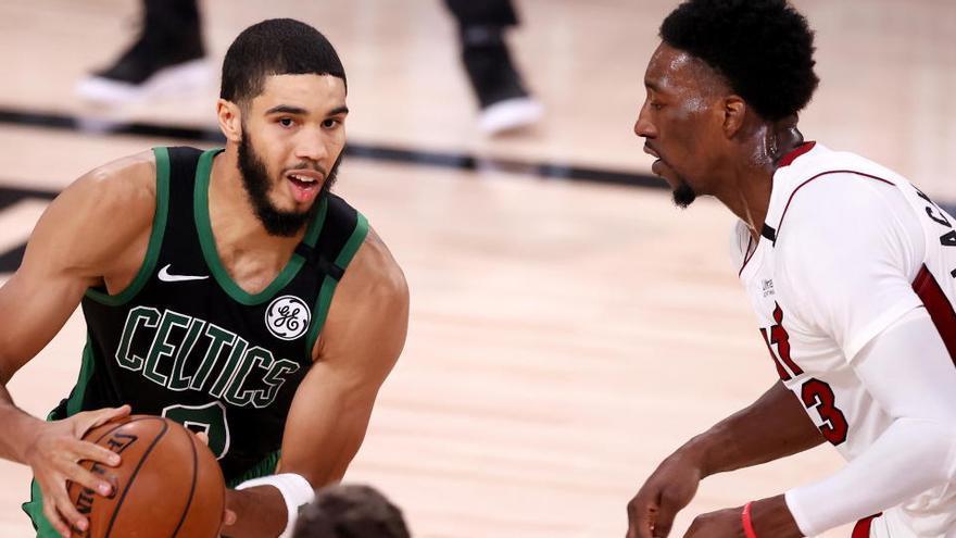 Tatum y Brown evitan la eliminación de los Celtics y fuerzan el sexto partido