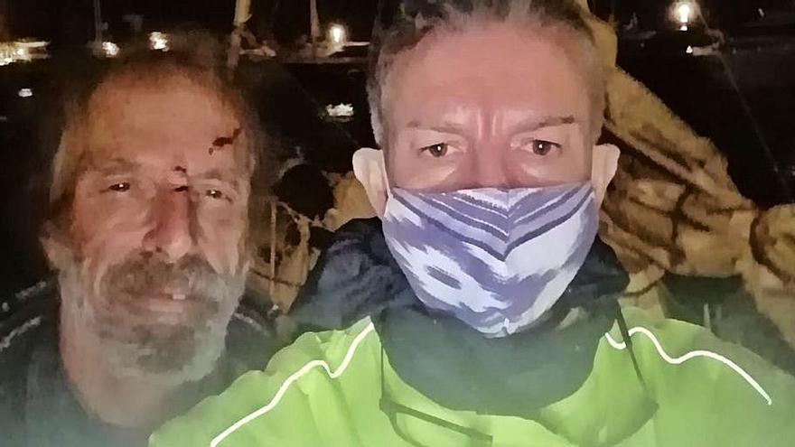 Salvamento in extremis en Calanova: «Tras ser rescatado el navegante me abrazó y lloramos juntos»