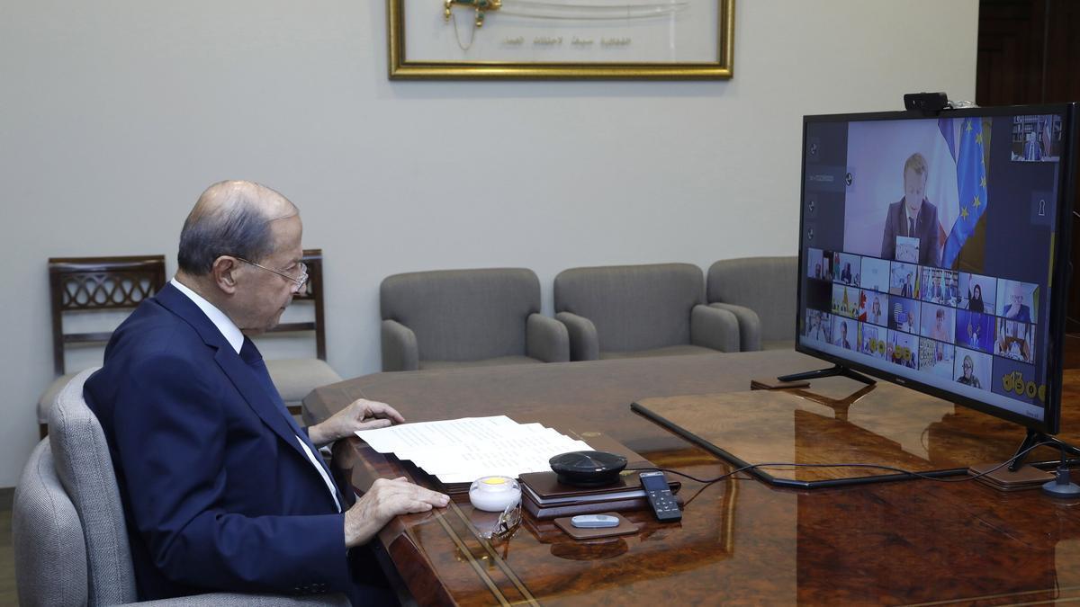 Michel Aoun.